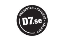 Logga för D7