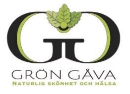 Logga för Grön Gåva