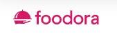 Logga för Foodora