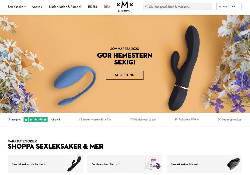mshop webbutik