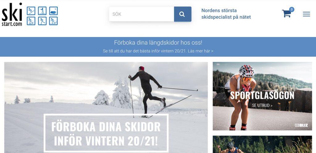 skistart webbutik