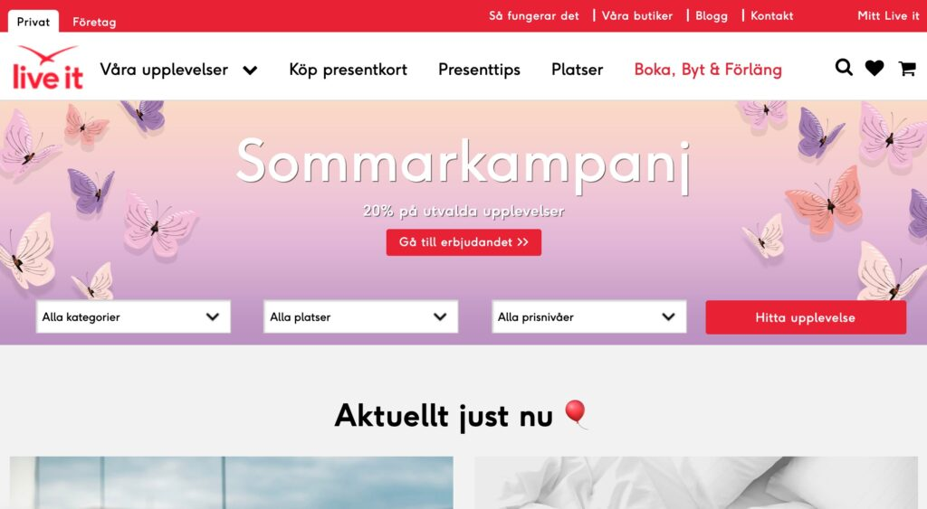 liveit webbplats