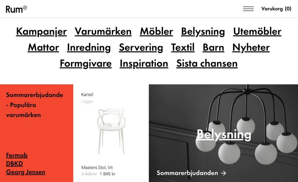 rum21 webbplats