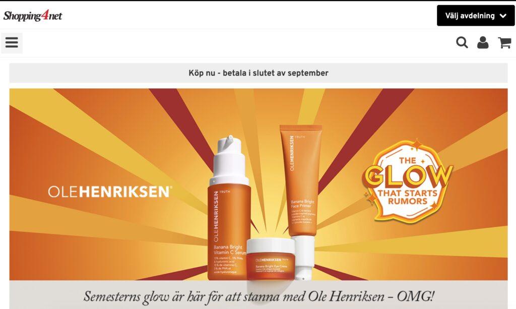 shopping4net webbplats