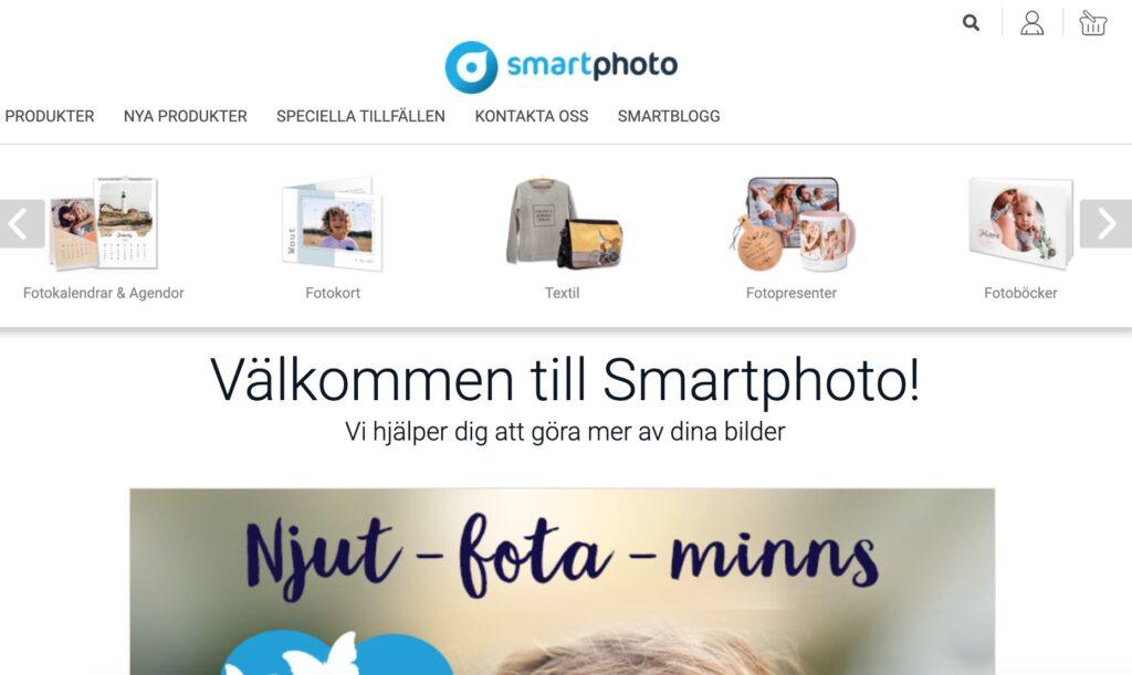 smartphoto webbplats