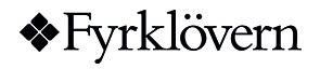 Logga för Fyrklövern