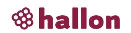 Logga för Hallon