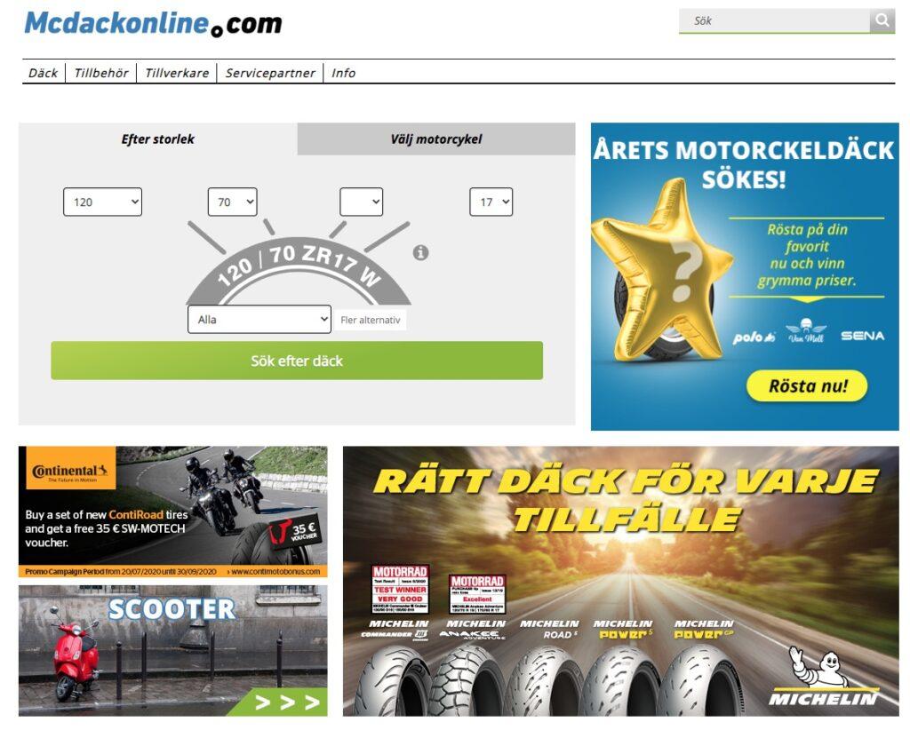 mcdackonline webbplats