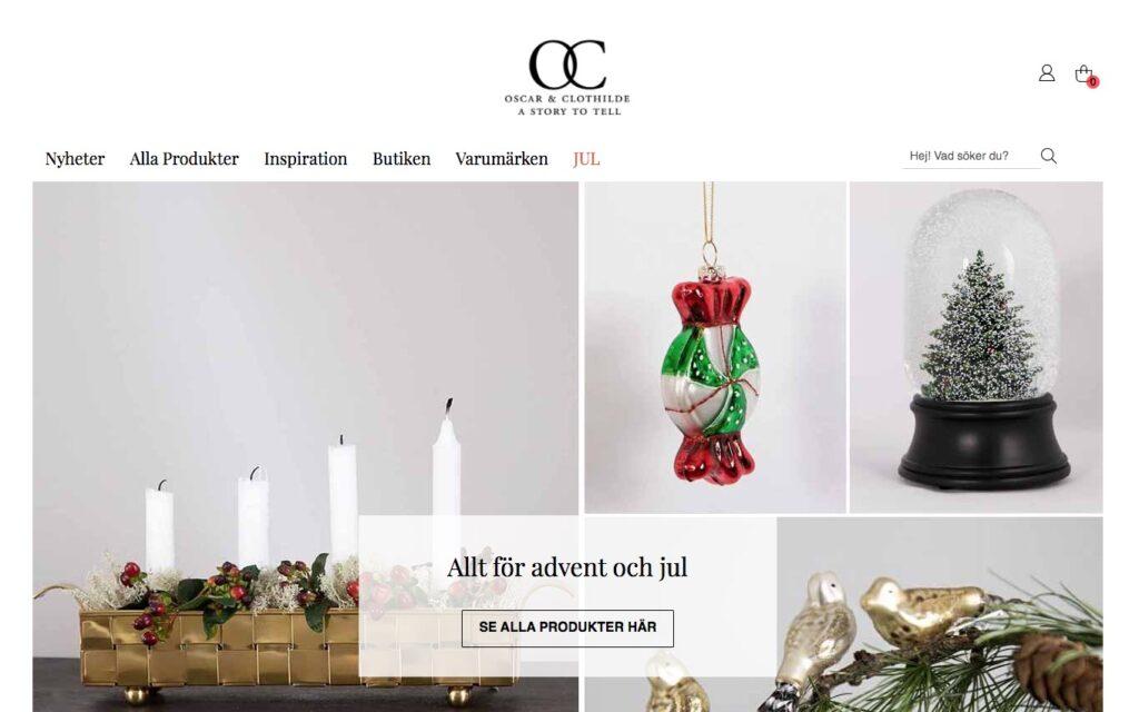 oscarclothilde webbplats