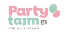 Logga för Partytajm