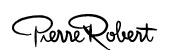 Logga för Pierre Robert