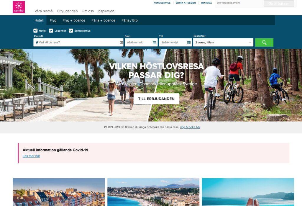 sembo webbplats